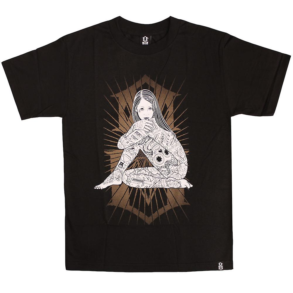 Rebel8 Burst T-shirt Black