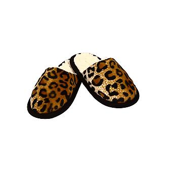 Slippers in een Cheetah look - 44/45