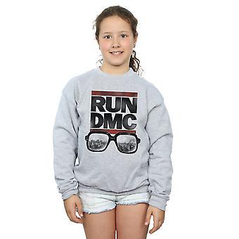 Run DMC Girls Logo Glasses Sweatshirt