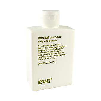 Evo Normal Persons Daily Conditioner (For All Hair Types, Especially Normal to Oily Hair) 300ml/10.1oz