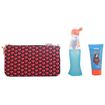 Moschino Cheap & Chic I Love Love Lote 3 Pz (Woman , Perfume , Women´s Perfumes)