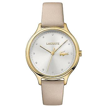 Lacoste 2001007 watch - watch Leather Brown woman