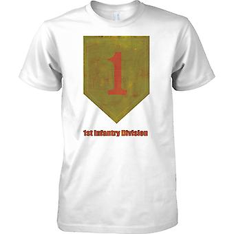US Army 1st Infantry Division - Mens T Shirt