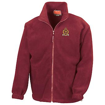 Staff & Personnel Support Branch SPSB Embroidered Logo - Official British Army Full Zip Fleece