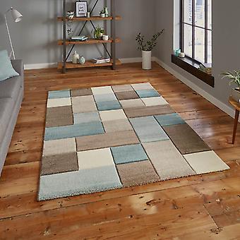 Brooklyn Teppiche 646 In Beige und blau