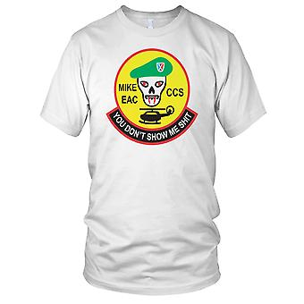 MACV-SOG Mike FAC CCS Vietnam War - czysty efekt męskie T Shirt