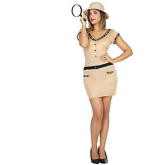 Kvinder kostumer Explorer safari damer kostume
