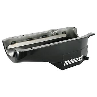 Moroso 21320 Oil Pan with One-Piece Seal for Chevy Small-Block Engines