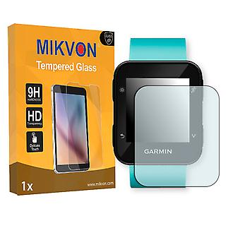 Garmin Forerunner 35 Screen Protector - Mikvon flexible Tempered Glass 9H (Retail Package with accessories)