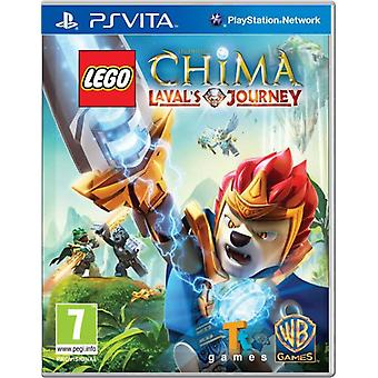 Légendes de Skylanders LEGO de Chima Lavals voyage PS Vita jeu