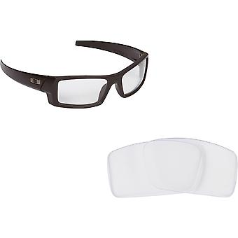Best SEEK Replacement Lenses Oakley Sunglasses GASCAN S Small Crystal Clear