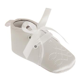 Nursery Time Baby Girls Classic Christening Shoes