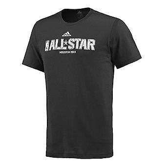T-shirt ADIDAS NBA All-Star basquete masculino [preto]