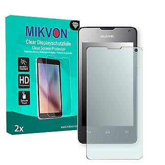Huawei T8833 Screen Protector - Mikvon Clear (Retail Package con accessori)