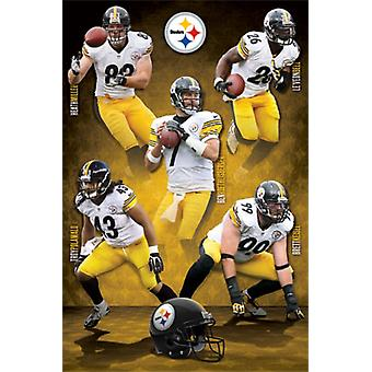 Pittsburgh Steelers - Team 14 Poster Print