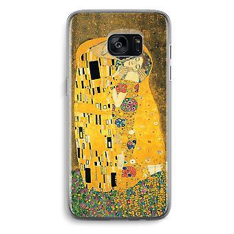 Samsung Galaxy S7 Transparent Grenzfall (Soft) - Der Kuss