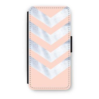 Samsung Galaxy S8 Flip Case - Marble arrows