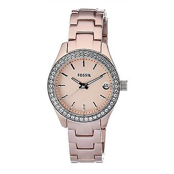 Fossil Stella Classic Face Pink Watch ES2976