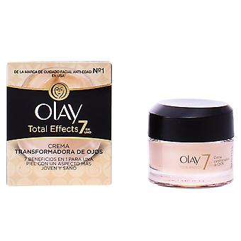 Olay Total Effects Crema Transformadora Ojos 15 Ml per le donne