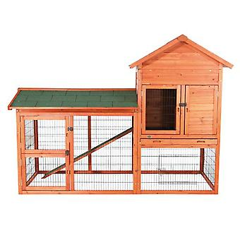 Trixie Natura Small Animal Hutch with Enclosure 199x146x93 Cm.
