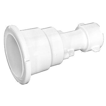 Waterway 215-1090B Gunite Spa Jet Fitting - White
