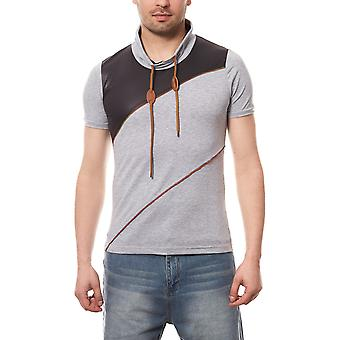 RUSTY NEAL T-Shirt label mens grey