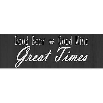 Great Time Poster Print by Allen Kimberly