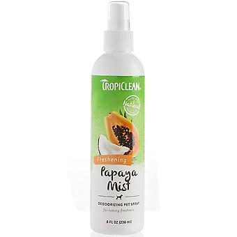 Niebla de Papaya Tropiclean desodorante Spray para mascotas