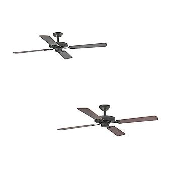 Faro Ceiling fan Yakarta Brown with pull cord