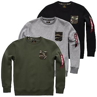 Alpha industries Camo Pocket sweater