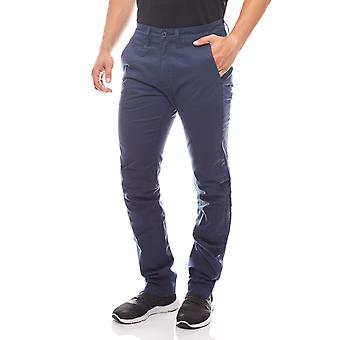 Lee Chino slim regular men's Chinohose Blau leisure trousers