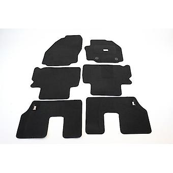 Fully Tailored Car Floor Mats - Ford GALAXY 2006-2013 Black