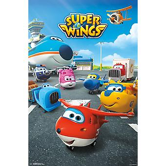 Super Wings - Group Poster Print