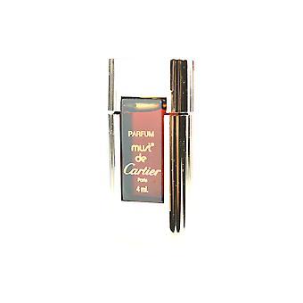 Cartier 'Must De Cartier' Parfum 0.13Oz (Original Formula) Splash New In Box