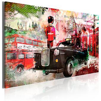 Leinwand Drucken - Erinnerungen aus London
