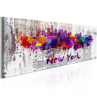Canvas Print - City of Artists