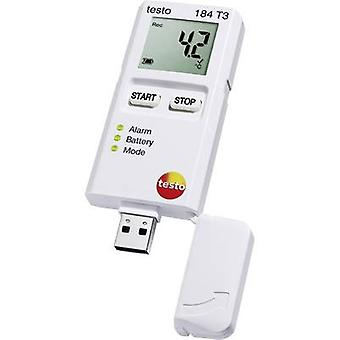 testo 184 T3 Temperature data logger Unit of measurement Temperature -35 up to +70 °C Calibrated to Manufacturers standards (no certificate)