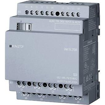 Módulo Add-on do PLC Siemens LOGO! DM16 230R 0BA2 6ED1055-1FB10-0BA2 115 V AC 230 V AC, 115 Vdc, 230 Vdc