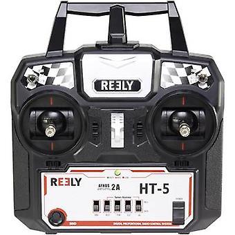Reely 5-HT portátil RC 2,4 GHz não. de canais: 5 receptor incl.
