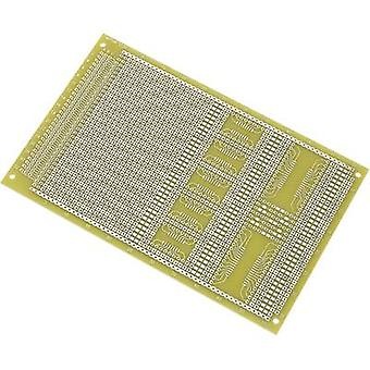Conrad Components SU527858 SMD eurocard PCB Epoxide (L x W) 160 mm x 100 mm 35 µm Contact spacing 2.54 mm Content 1 pc(s)
