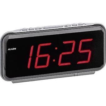 Quartz Alarm clock Silver