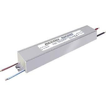 Recom Lighting RACD25-1050P LED driver Constant current 25 W 1.05 A 16 - 24 Vdc not dimmable, PFC circuit, Surge protection