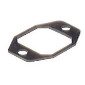 Hirschmann 733 415-002 G 30 E-2 Suitable Flat Seal. Black Number of pins:4