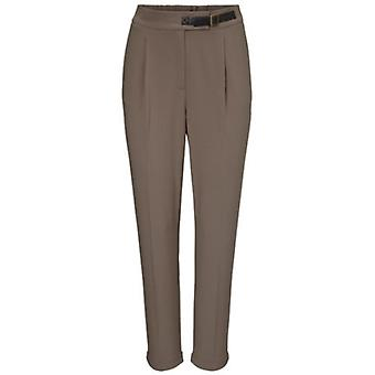 Ashley brooke high waist ladies trousers Brown