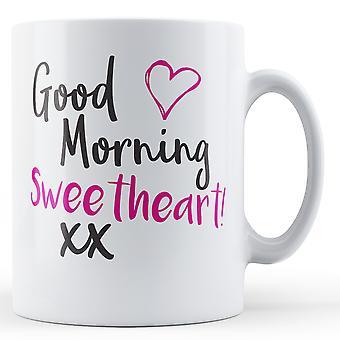 Guten Morgen Schatzi! XX - Becher bedruckt