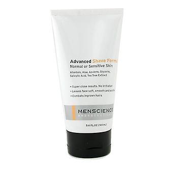 Menscience Advanced Shave Formula (For Normal & Sensitive Skin) - 165ml/5.6oz