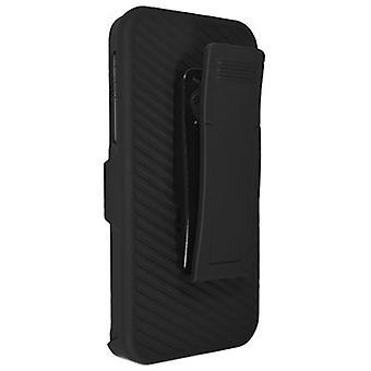 Technocel Shield Holster Combo for Apple iPhone 5 / 5S / 5SE - Black