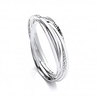Cavendish French Sterling Silver Russian Bangle