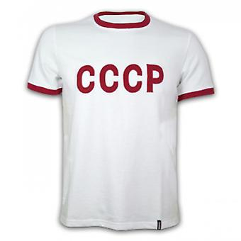 CCCP Away 1970's Short Sleeve Retro Shirt 100% cotton