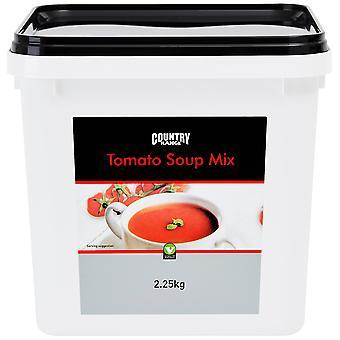 Land Auswahl Tomaten Suppe Mix